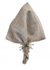 Kim Seybert Distressed Natural and Silver Napkin