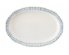 Juliska Sitrio Stripe Indigo Serving Platter