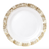 Vietri Rufolo Glass Gold Service Plate Charger