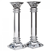 Waterford Treviso Pair of 10 inch Candlesticks