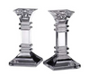 Waterford Treviso Pair of 6 inch Candlesticks