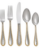 Michael Aram Molten Gold 5 Piece Flatware Placesetting