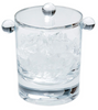 Caspari Acrylic Ice Bucket Crystal