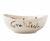 "Juliska Forest Walk Love and Gratitude 7"" Bowl"