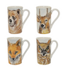 Vietri Into the Woods Assorted Mugs
