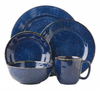 Juliska Puro Dappled Cobalt 5 Piece Placesetting