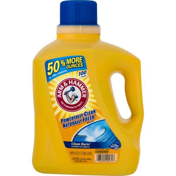 Arm & Hammer Laundry Detergent Liquid Clean Burst MirchiMasalay