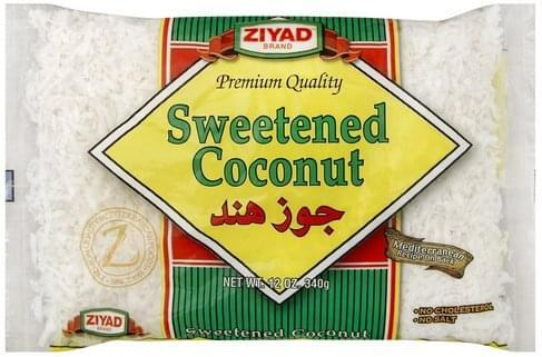 Ziyad Sweetened Coconut MirchiMasalay