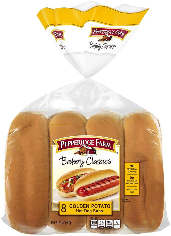 Pepperidge Farm Golden Potato Hot Dog Buns MirchiMasalay