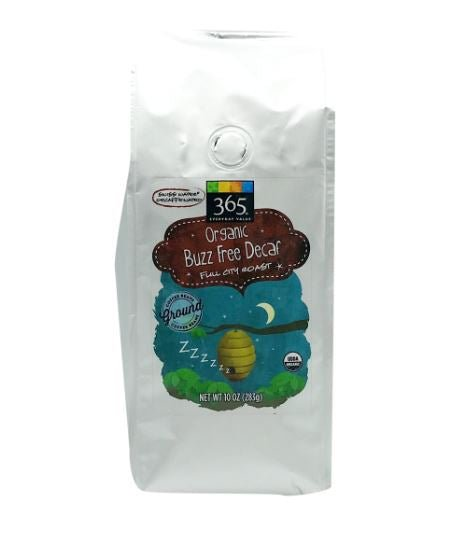 Organic Decaf Buzz Free French Roast Ground Coffee MirchiMasalay