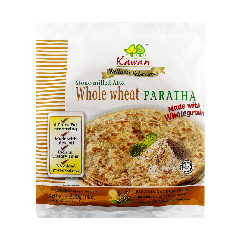 Kawan Whole Wheat Paratha (5pc) Kawan Paratha MirchiMasalay