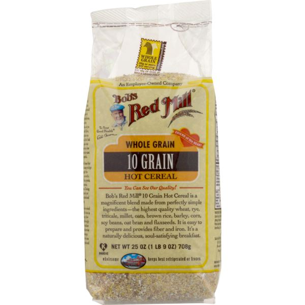 Bob's Red Mill Whole Grain 10 Grain Hot Cereal Cereal MirchiMasalay