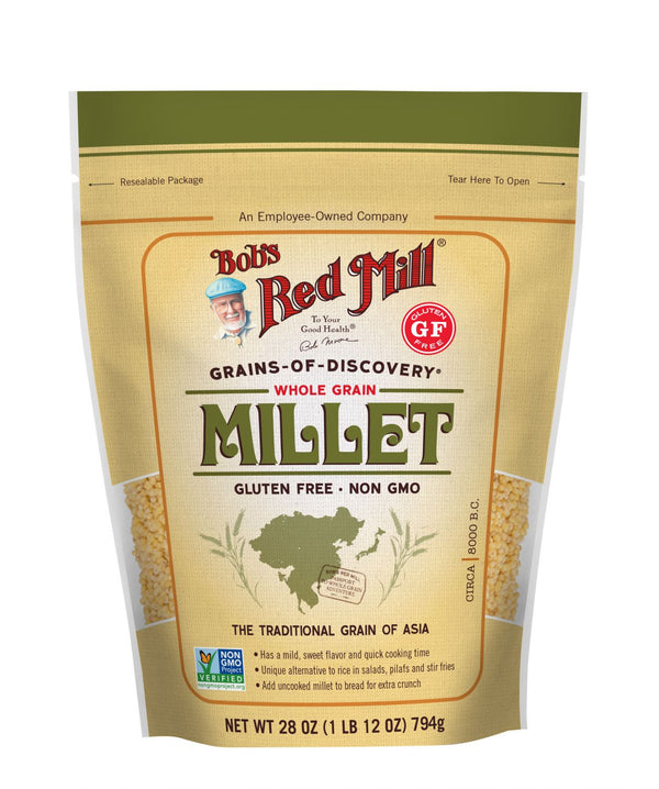 Bob's Red Mill Huled Millet Cereal MirchiMasalay