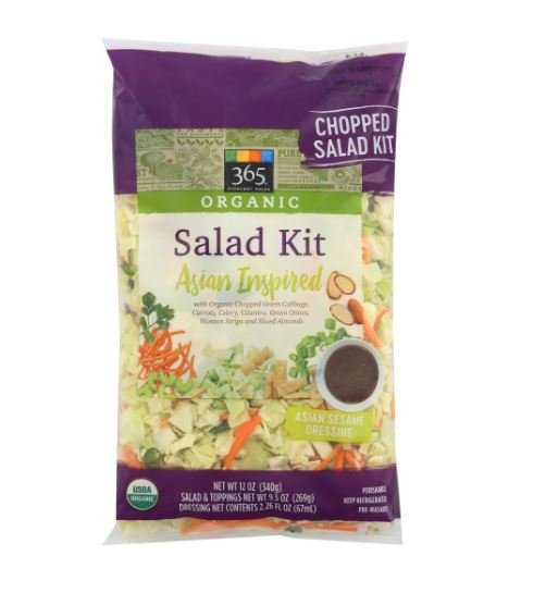 Asian Inspired Organic Salad Kit MirchiMasalay