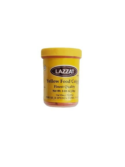 Lazzat Bright Yellow Food Color MirchiMasalay