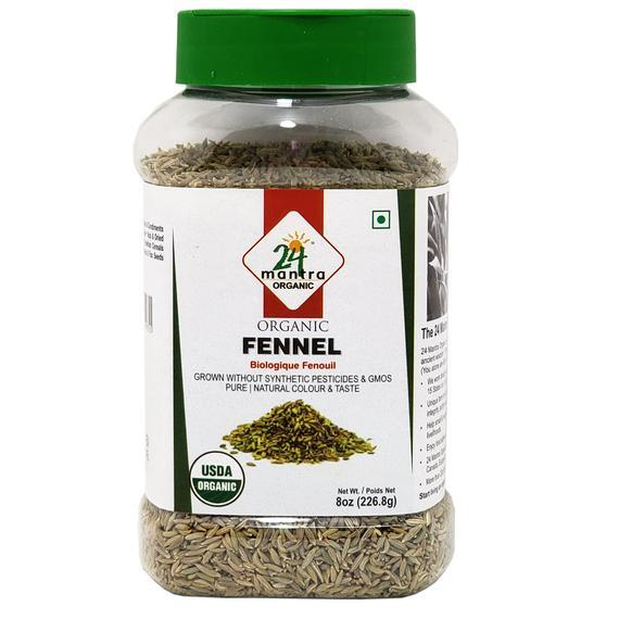 24 Mantra Organic Fennel MirchiMasalay