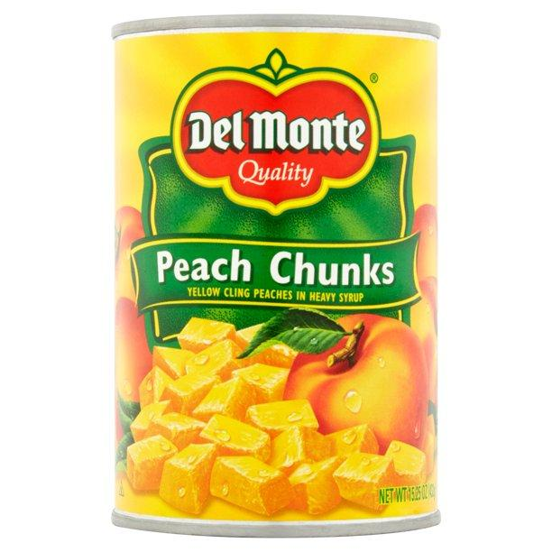 Del Monte Peach Chunks MirchiMasalay