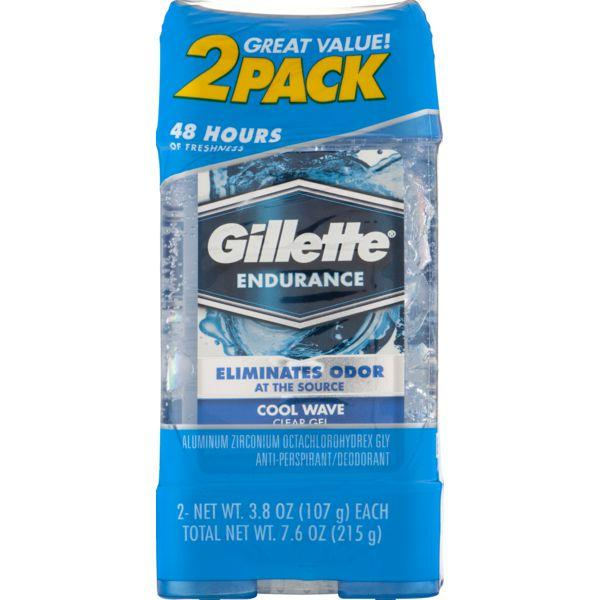 Gillette 3X Clear Gel Cool Wave Antiperspirant and Deodorant MirchiMasalay