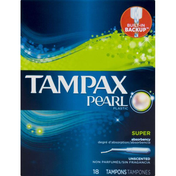 Tampax Pearl Tampons Super MirchiMasalay