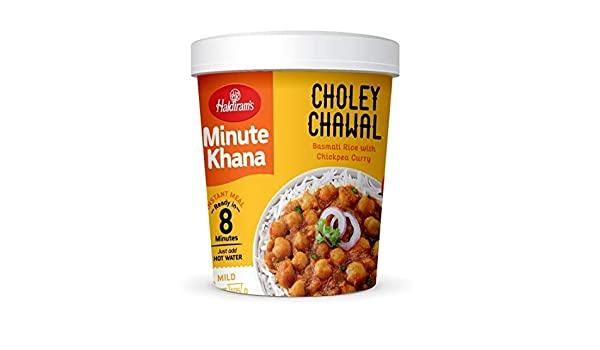 Haldiram's Choley Chawal MirchiMasalay