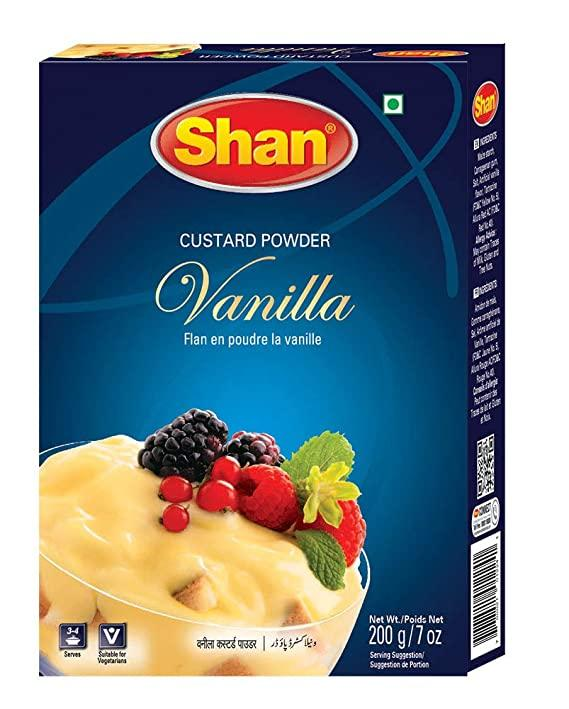 Shan Vanilla Custard Powder spices MirchiMasalay