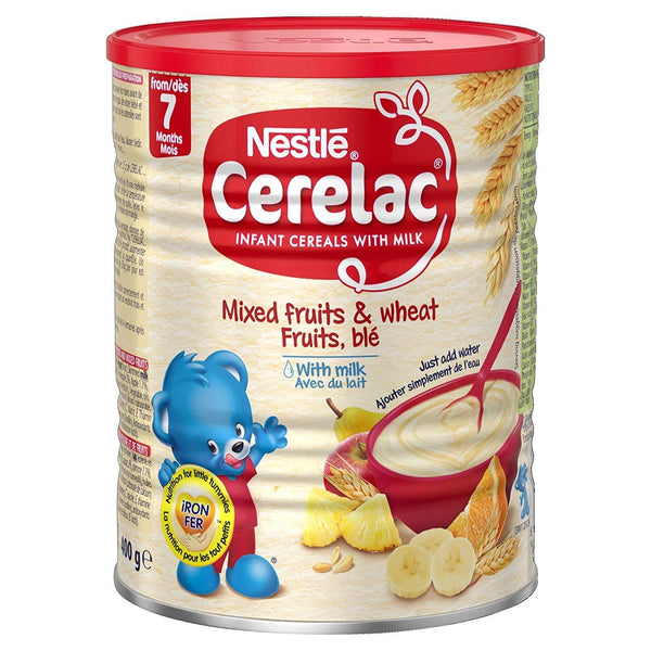 Nestle Cerelac Mixed Fruits & Wheat w/ Milk (Stage 3) MirchiMasalay