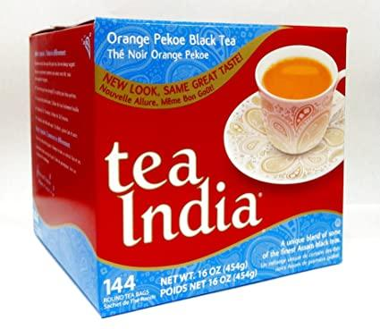 Tea India Orange Pekoe Black Tea - 144 Bags MirchiMasalay