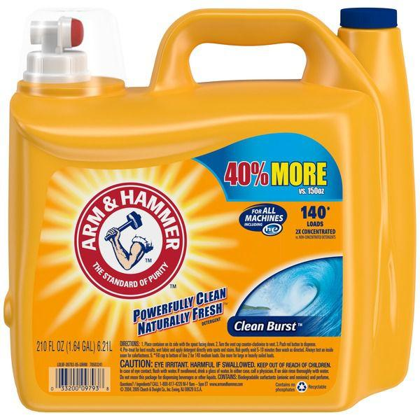 Arm & Hammer Clean Burst Detergent MirchiMasalay