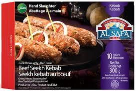 Al Safa Beef Seekh Kabab ( 10 pcs) - MirchiMasalay
