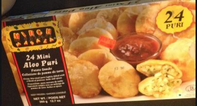 Mirch Masala Mini Aloo Puri (24 pcs) Haldirams MirchiMasalay