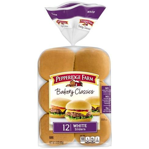 Pepperidge Farm Bakery Classics White Slider Buns MirchiMasalay