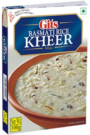 Gits Basmatic Rice Kheer Instant Mix MirchiMasalay
