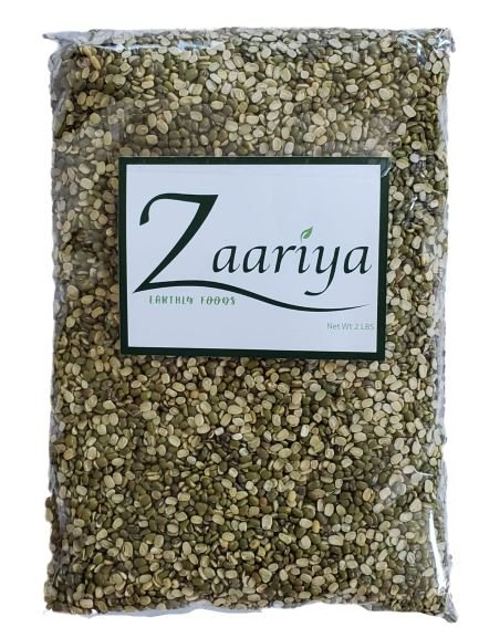 Zaariya Green Moong Dal Split MirchiMasalay