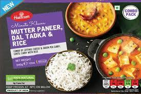 Haldiram's  Mutter Paneer, Dal Tadka & Rice - MirchiMasalay