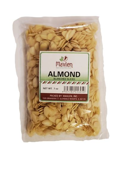 Mavlen Almond Blanched (Without Skin) MirchiMasalay