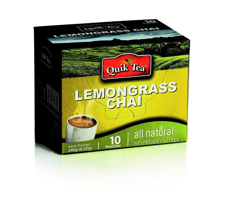 Quick Lemongrass Chai ( 10 pouches ) MirchiMasalay