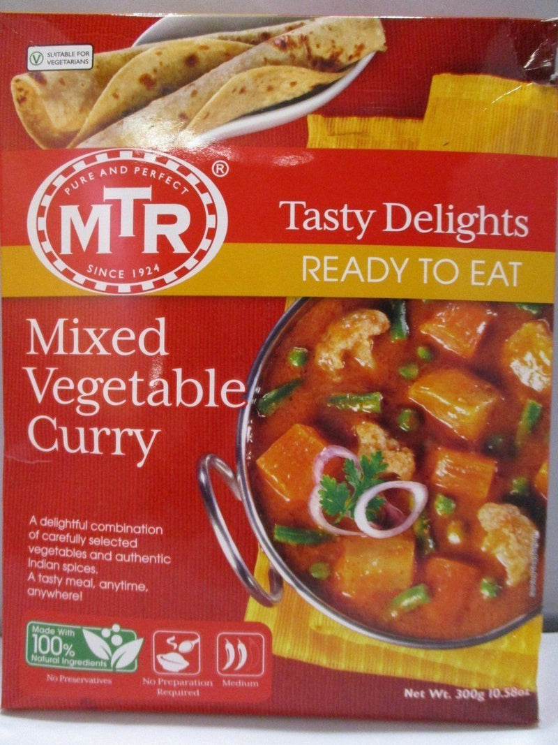 MTR Mixed Vegetable Curry- Ready to Eat - MirchiMasalay