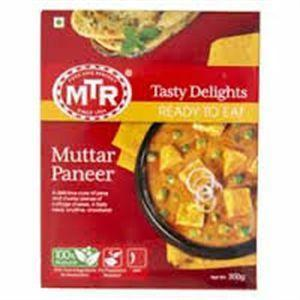 MTR Muttar Paneer - Ready to Eat - MirchiMasalay