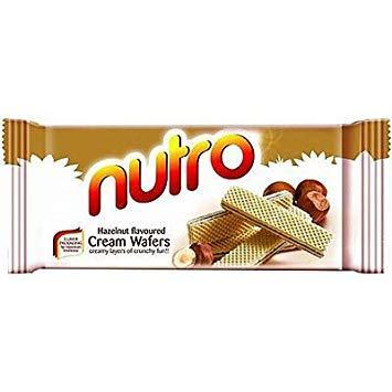 Nutro Cream Wafers - Hazelnut - MirchiMasalay