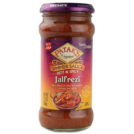 Patak's Jalfrezi Simmer Sauce- Hot & Spicy - MirchiMasalay
