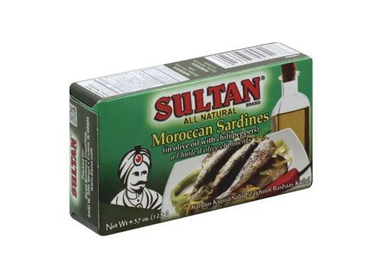 Sultan Moroccon Sardines ( In olive oil with chili peppers) MirchiMasalay