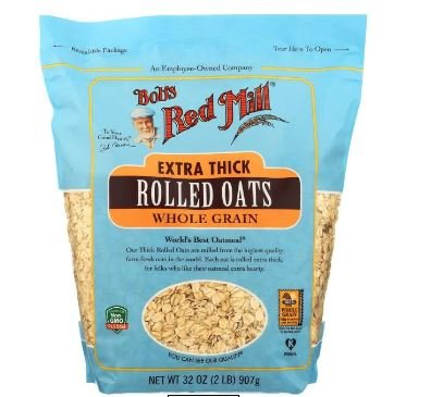 Bob's Red Mill Extra Thick Whole Grain Rolled Oats MirchiMasalay