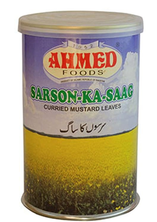 Ahmed Sarson-Ka-Saag Instant Mix MirchiMasalay