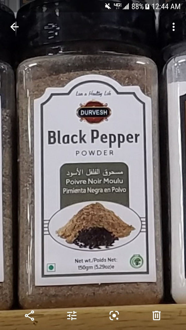 Black Pepper Powder spices Fresh Farms
