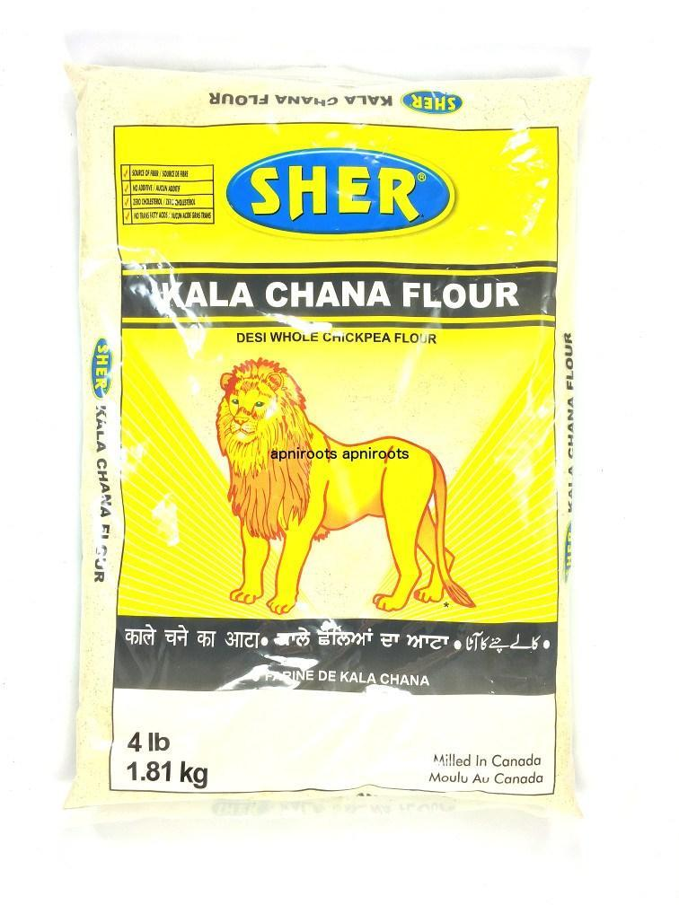 Sher Kala Chana Flour - MirchiMasalay