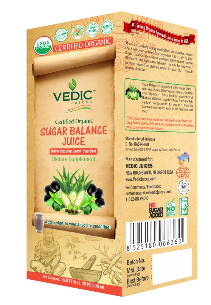 Vedic Sugar Balance Juice MirchiMasalay