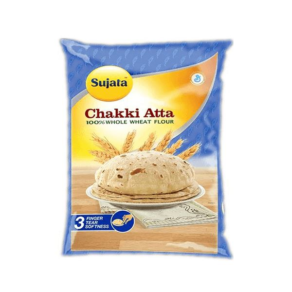 Sujata Whole Wheat Chakki Atta MirchiMasalay
