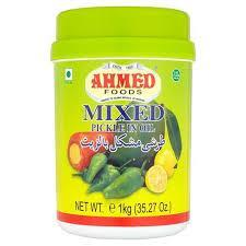 Ahmed Mixed Pickle in Oil - MirchiMasalay