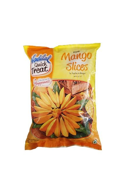 Vadilal Quick Treat Frozen Mango Slices MirchiMasalay