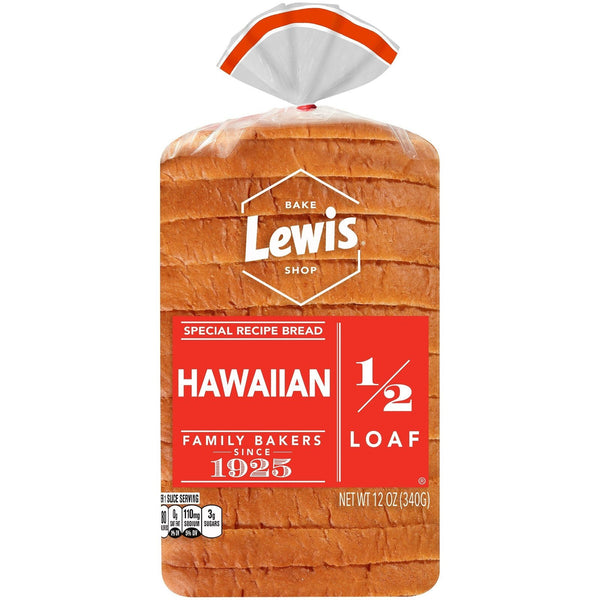 Lewis Bake Shop Half Loaf Hawaiian Special Recipe Bread MirchiMasalay